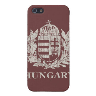 Vintage Hungary Coat Of Arms iPhone 5/5S Cover