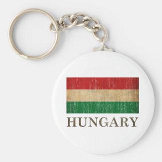 Vintage Hungary Key Ring