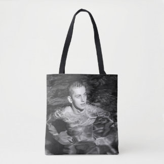 Vintage Hunk Swimmer Tote Bag
