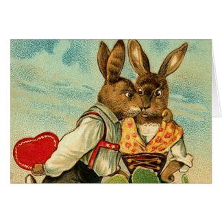 Vintage Hunny Bunny Card