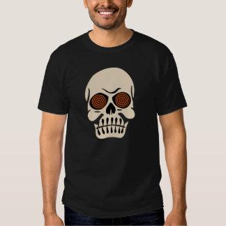 Vintage Hypnotic Eye Skull T Shirt