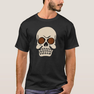 Vintage Hypnotic Eye Skull T-Shirt