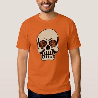 Vintage Hypnotic Eye Skull T-shirt