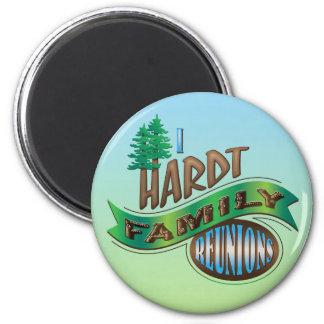 Vintage I Hardt Family Reunions Fridge Magnets