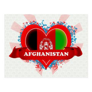 Vintage I Love Afghanistan Postcard