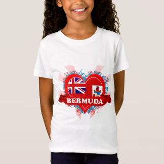 Vintage I Love Bermuda T-Shirt