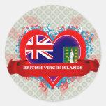 Vintage I Love British Virgin Islands