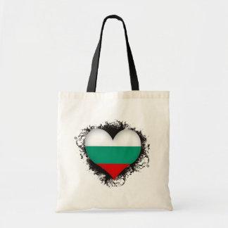 Vintage I Love Bulgaria Budget Tote Bag