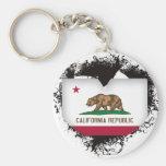 Vintage I Love California Keychain