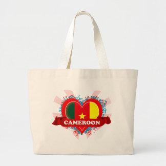 Vintage I Love Cameroon Tote Bag