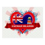 Vintage I Love Cayman Islands