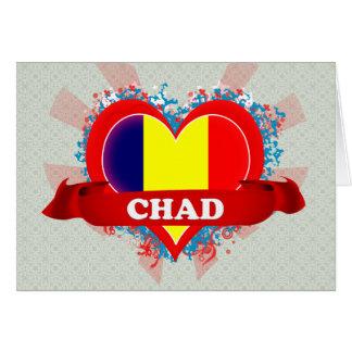 Vintage I Love Chad Cards