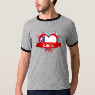 Vintage I Love Chile Tshirts