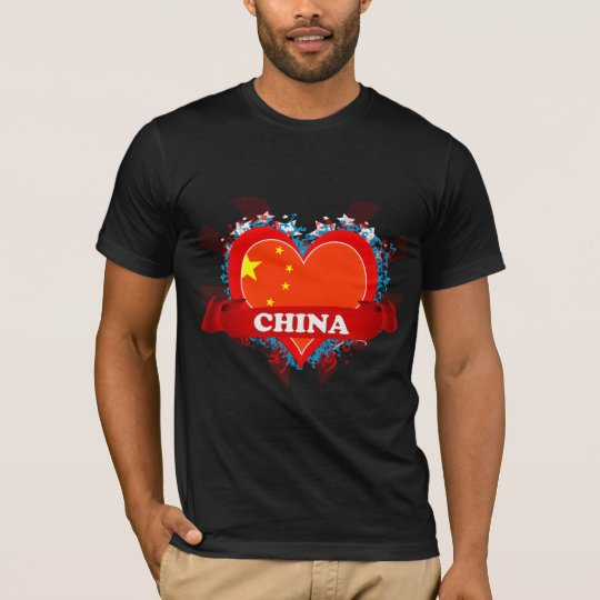 Vintage I Love China T-Shirt