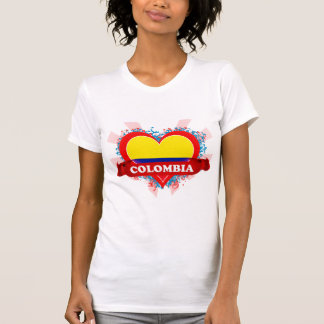 Vintage I Love Colombia T-Shirt