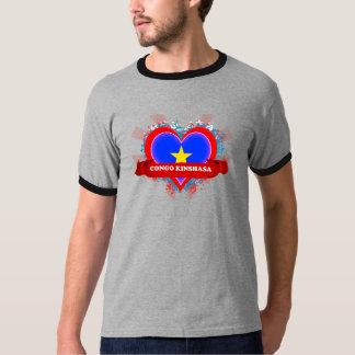 Vintage I Love Congo Kinshasa Shirts