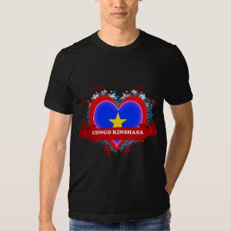 Vintage I Love Congo Kinshasa T-shirts
