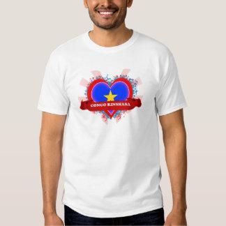 Vintage I Love Congo Kinshasa Tshirt