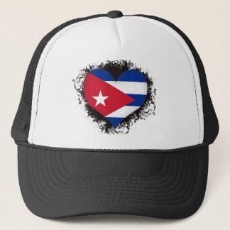 Vintage I Love Cuba Trucker Hat