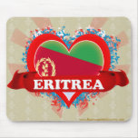 Vintage I Love Eritrea Mouse Mats