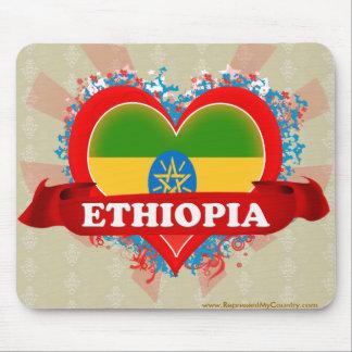Vintage I Love Ethiopia Mouse Pad