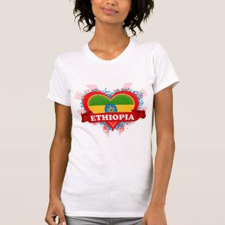 Vintage I Love Ethiopia T-Shirt