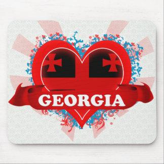Vintage I Love Georgia Mouse Mat
