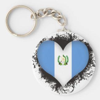 Vintage I Love Guatemala Key Ring