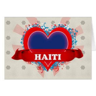 Vintage I Love Haiti Cards