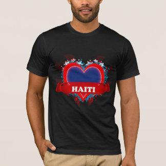 Vintage I Love Haiti T-Shirt