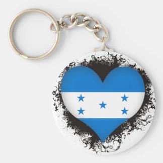 Vintage I Love Honduras Key Ring