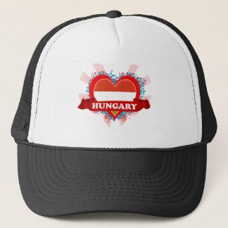 Vintage I Love Hungary Trucker Hat