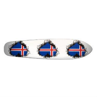 Vintage I Love Iceland 21.6 Cm Skateboard Deck