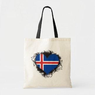 Vintage I Love Iceland Tote Bag