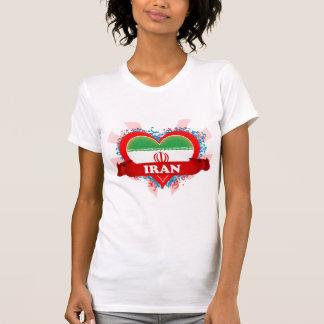 Vintage I Love Iran T-Shirt