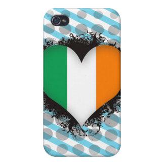 Vintage I Love Ireland iPhone 4 Cover