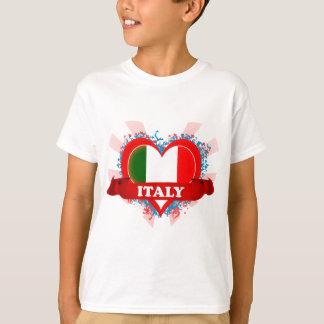 Vintage I Love Italy T-Shirt