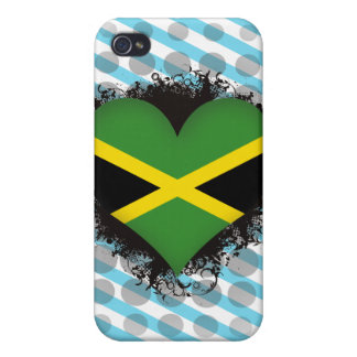 Vintage I Love Jamaica iPhone 4 Cover