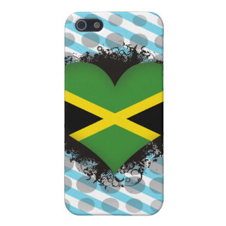 Vintage I Love Jamaica Case For iPhone 5