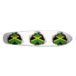 Vintage I Love Jamaica 20 Cm Skateboard Deck
