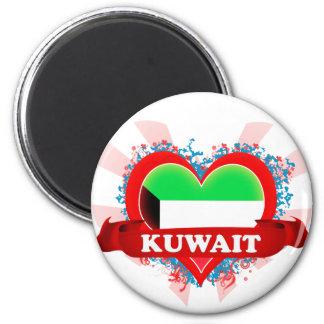 Vintage I Love Kuwait Magnet