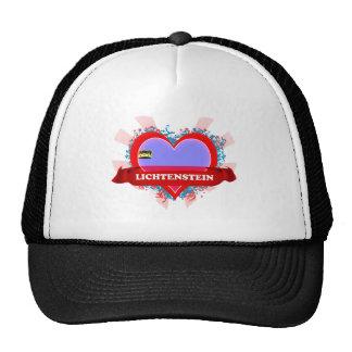 Vintage I Love Lichtenstein Trucker Hats