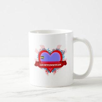 Vintage I Love Lichtenstein Coffee Mug