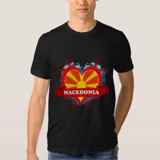 Vintage I Love Macedonia Tshirts