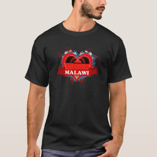 Vintage I Love Malawi T-Shirt