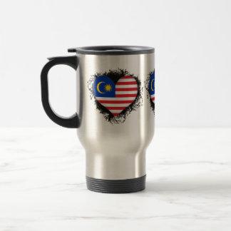 Vintage I Love Malaysia Travel Mug