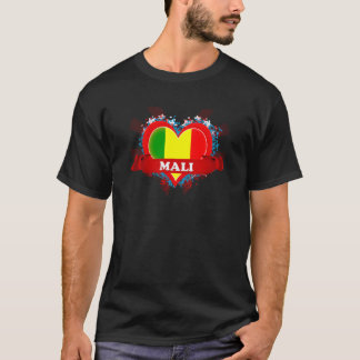Vintage I Love Mali T-Shirt