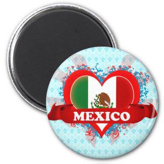 Vintage I Love Mexico Magnet