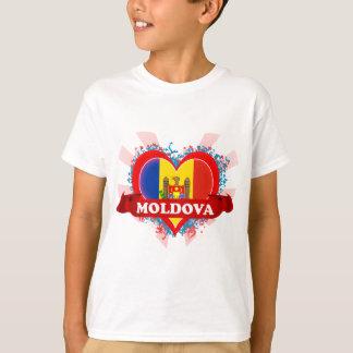 Vintage I Love Moldova T-Shirt