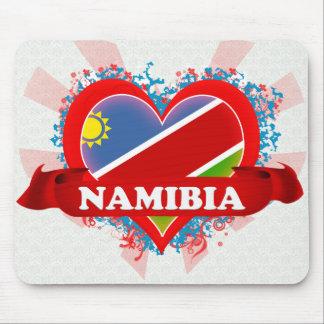 Vintage I Love Namibia Mousepads